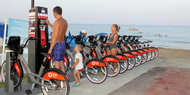 İskele Belediyesi Halk Plajı akıllı yaşam alanı açıldı