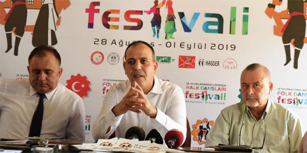 13. Uluslararası Halk Dansları Festivali 28 Ağustos'ta başlıyor