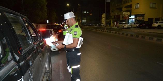Trafikte en çok ceza seyrüseferiz araç kullanımı ve seyir halinde cep telefonu ile görüşme suçundan kesildi