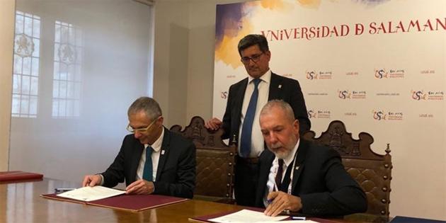 GAÜ ve Salamanca Üniversitesi arasında akademik işbirliği protokolü imzalandı