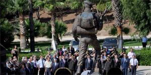 Boğaz Şehitliği'nde anma töreni düzenlendi