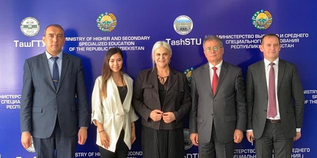 GAÜ ve Taşkent Devlet Üniversitesi arasında işbirliği için ön mütabakata varıldı
