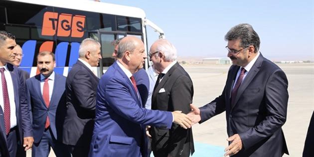 Başbakan Ersin Tatar Ankara'da