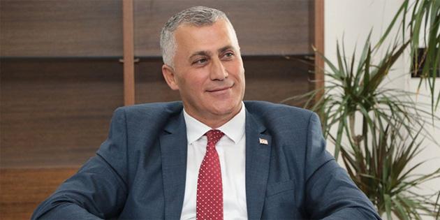 """Amcaoğlu: """"Gümrük ve Rüsumat Dairesi'ndeki personelin tekrarlanan testi negatif çıktı"""""""