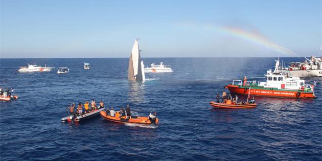 Alsancak Belediyesi dalış turizmi için gemi batırdı