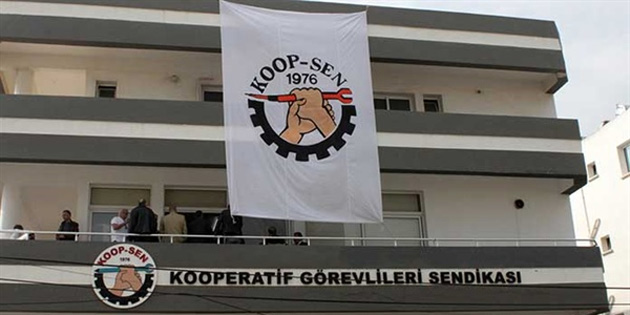 Koop-Sen'den Kıbrıs Türk Petrollerindeki greve destek