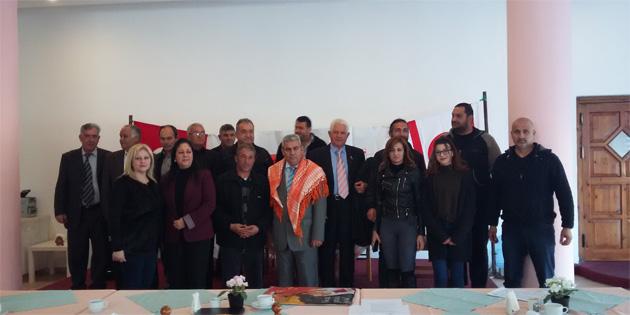 KKTC Yörükler Derneği Başkanlığına Engin Ersoy seçildi