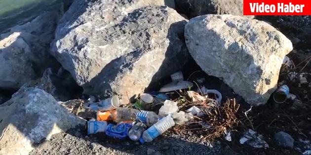 Geçitköy içme suyu kaynağına çöp tehdidi