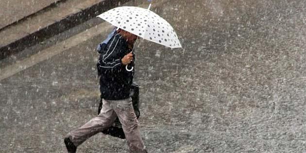 Hava 27 Şubat'a kadar yer yer yağmurlu olacak