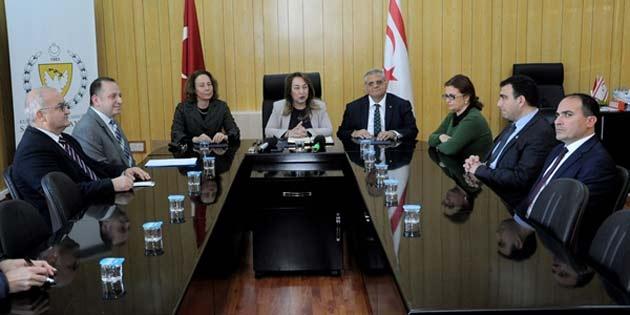 Sağlık Bakanlığı, DAÜ, UCL ve Kayıp Şahıslar Komitesi Kıbrıslı Türk üye ofisi işbirliği protokolü imzaladı
