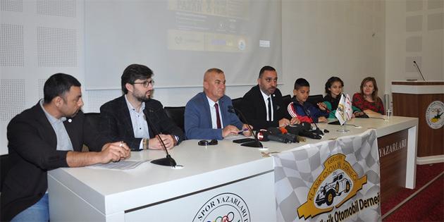 Kıbrıs Türk Klasik Otomobil Derneği Lefkoşa Suriçi'nde yaşayan risk altındaki çocuklar yararına ralli düzenliyor