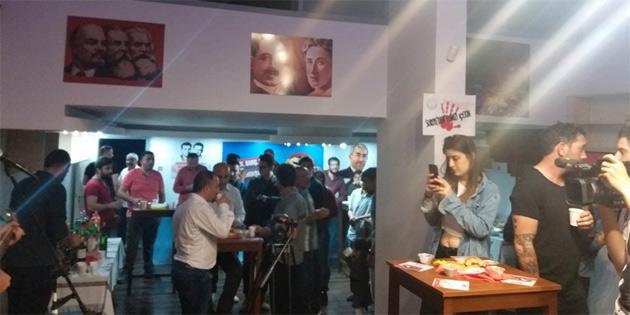 """""""Sol Hareket""""in Genel Merkezi açıldı"""