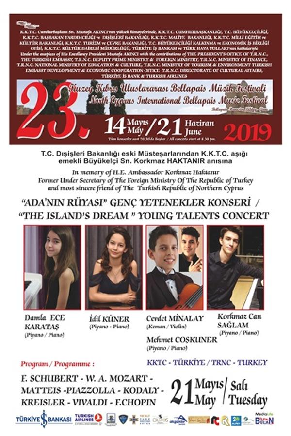 Bellapais Müzik Festivali genç yetenekleri ağırlayacak
