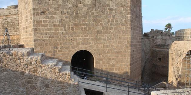Gazimağusa'da Akkule kara kapısı'nın konzervasyon çalışması tamamlandı