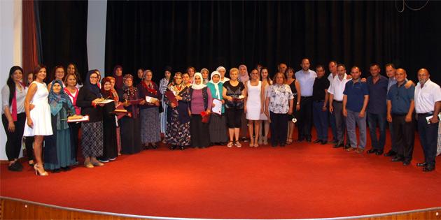 İskele'de kadınlara yönelik okuma yazma kursu düzenlendi