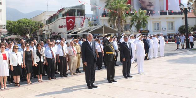 20 Temmuz Barış ve Özgürlük Bayramı Girne'de törenle kutlandı