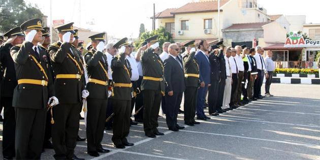 20 Temmuz Barış ve Özgürlük Bayramı İskele'de törenlerle kutlandı