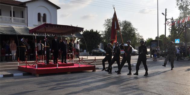 20 Temmuz Barış ve Özgürlük Bayramı Güzelyurt'ta törenlerle kutlandı