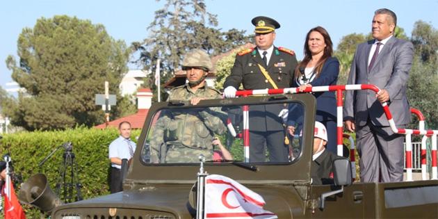 20 Temmuz Barış ve Özgürlük Bayramı Gazimağusa'da törenlerle kutlandı