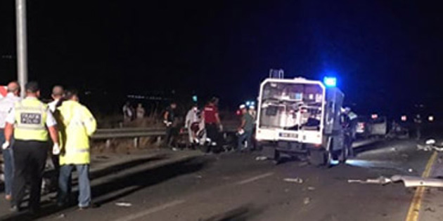 Yılmazköy yakınlarında trafik kazası: 2 ölü
