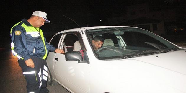 Gazimağusa'da trafik ve asayiş operasyonu