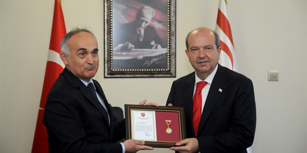 Tatar'a TSK Güçlendirme Vakfı'ndan altın madalya