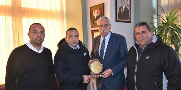 Güngördü Engelliler Spor Federasyonu yöneticilerini kabul etti