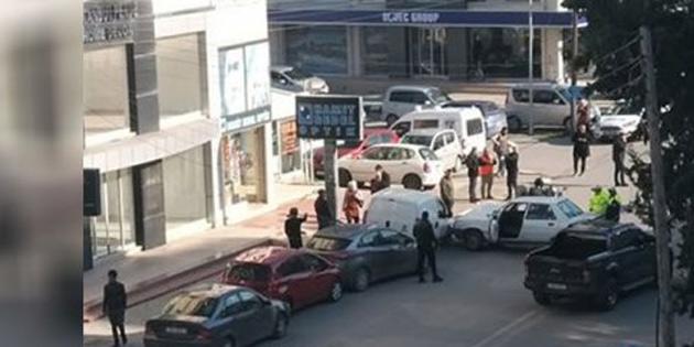 Gazimağusa'da trafikte kalp krizi geçiren Aydar zincirleme kazaya sebep oldu