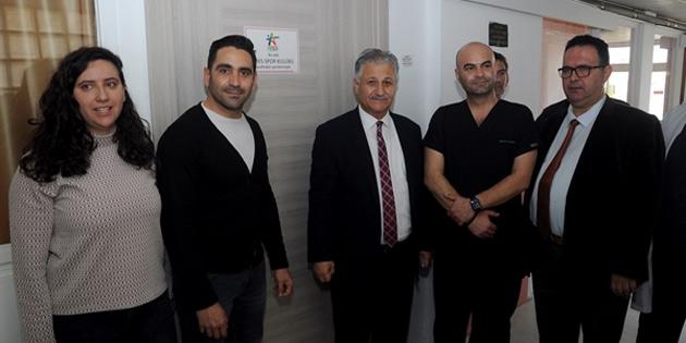 Sağlık Bakanı Pilli, yenilenen odaları inceledi