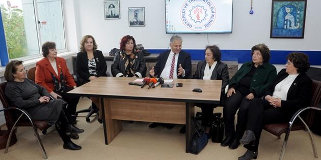 Kadınlar Birliği'nden devlet hastanesine dört buzdolabı bağışı