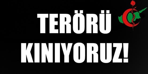 Tabipler Birliği, terörü, savaşı ve her türlü şiddeti kınadı