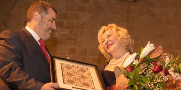 Piyanist Gülsin Onay Bellapais Manastırı'nda konser verdi