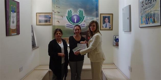 Kadınlar Birliği, Saraçoğlu Vakfı'na bağışta bulundu