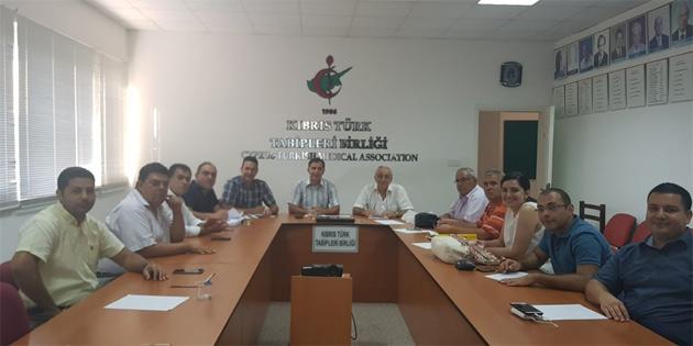 Kıbrıs Türk Cerrahi Derneği Genel Kurulu gerçekleştirildi