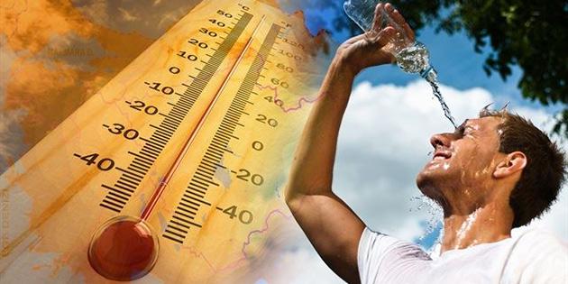 Hava sıcaklığı 39 derece