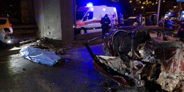 Trafik kazası sonucu ölenlerin sayısı 3'e yükseldi