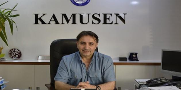 KAMUSEN Dünya Gazeteciler Günü vesilesiyle mesaj yayınladı