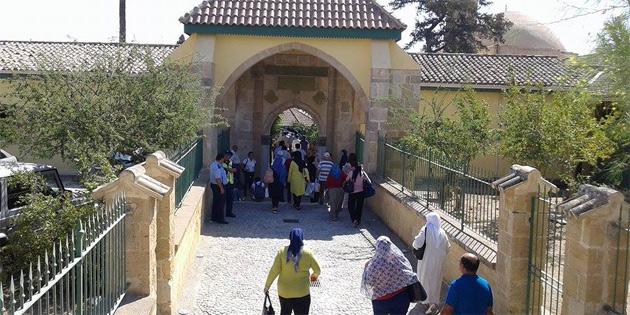 Hala Sultan Tekkesi'ne ziyaret