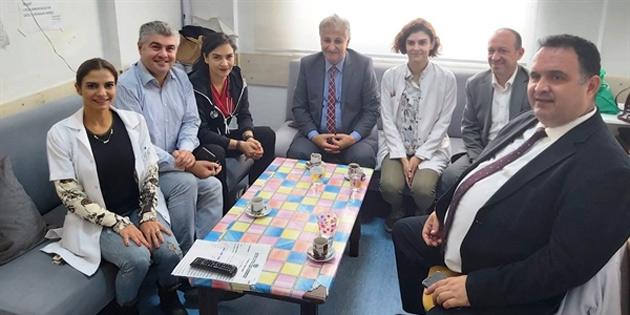 Sağlık Bakanı Pilli, Burhan Nalbantoğlu Devlet Hastanesi'nde incelemelerde bulundu