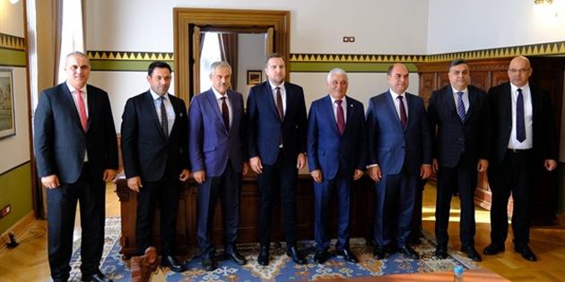 KTBB, Bosna Hersek'teki belediyelerle işbirliğini artırdı