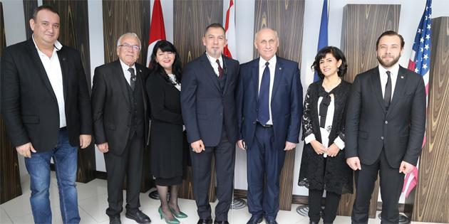 GAÜ uluslararası kampüsleri 2017 değerlendirme toplantısı yapıldı