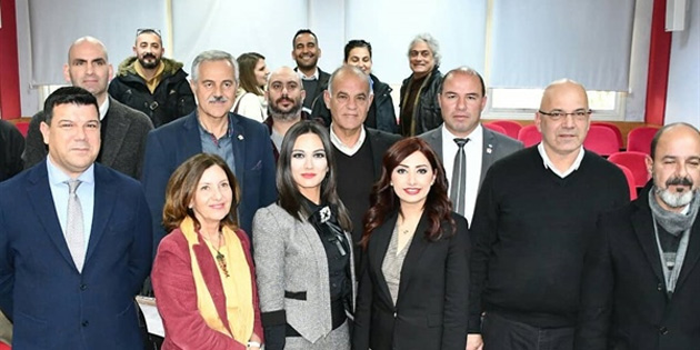 """İnce, """"Kuzey Kıbrıs'ta Cittaslow (yavaş şehir) felsefesi"""" konulu araştırmasını belediye başkanlarına sundu"""