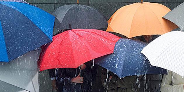 En çok yağış YDÜ bölgesine düştü