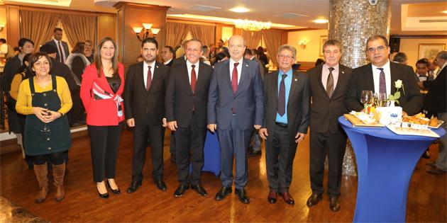 Rehberler Birliği 43. yıl dönümünü resepsiyonla kutladı
