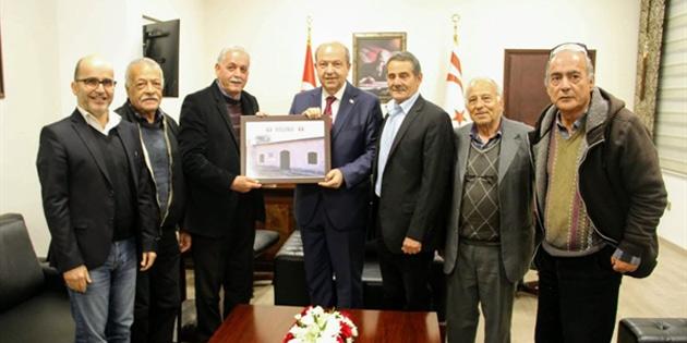 Başbakan Tatar Silugulular Dayanışma Derneği heyetini kabul etti