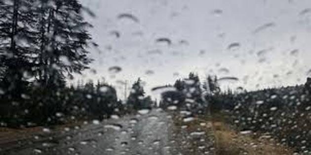 En fazla yağış Girne ve Karaoğlanoğlu'nda kaydedildi