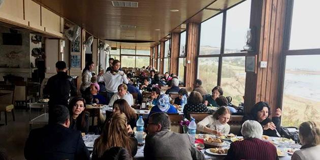 Sosyal Hizmetler Dairesi'nden, Güzelyurt bölgesinde yaşlılara yemek