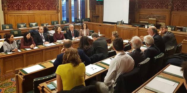 Kayıp Şahıslar Komitesi, İngiltere'de temaslarda bulundu