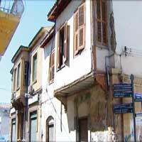 Arabahmet Mahallesi ve evleri
