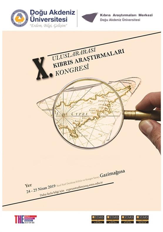 Uluslarası Kıbrıs araştırmaları kongresi'nin 10'uncusu 24 Nisan'da başlıyor